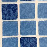 elbe folie mozaiek blauw