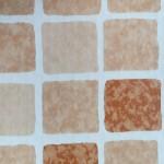 elbe folie mozaiek terracota