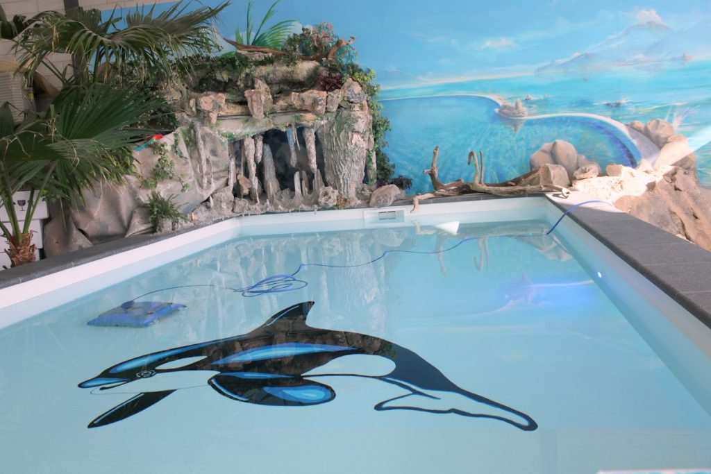 zwembad showroom APP