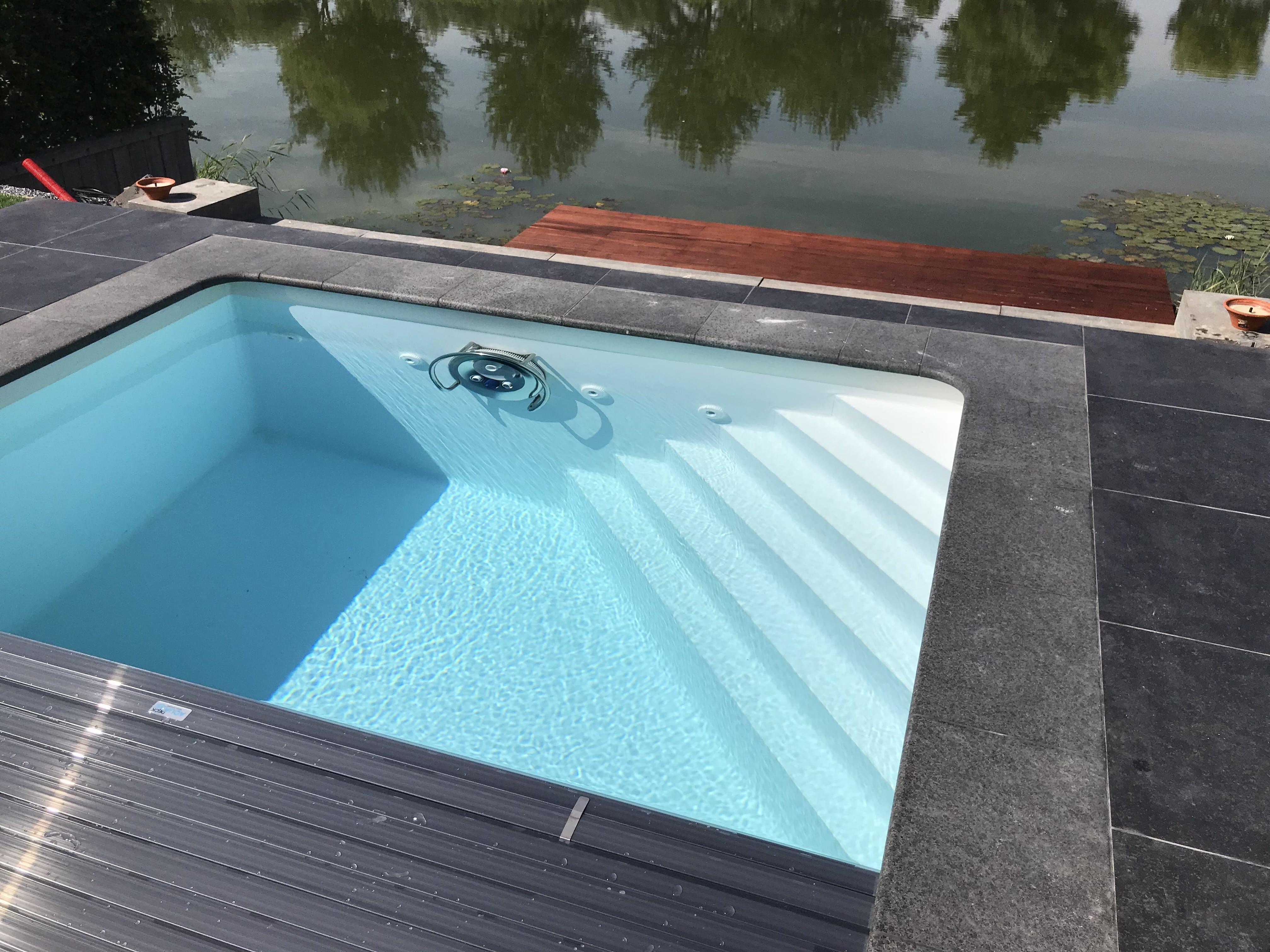 zwembad witte zwembadfolie