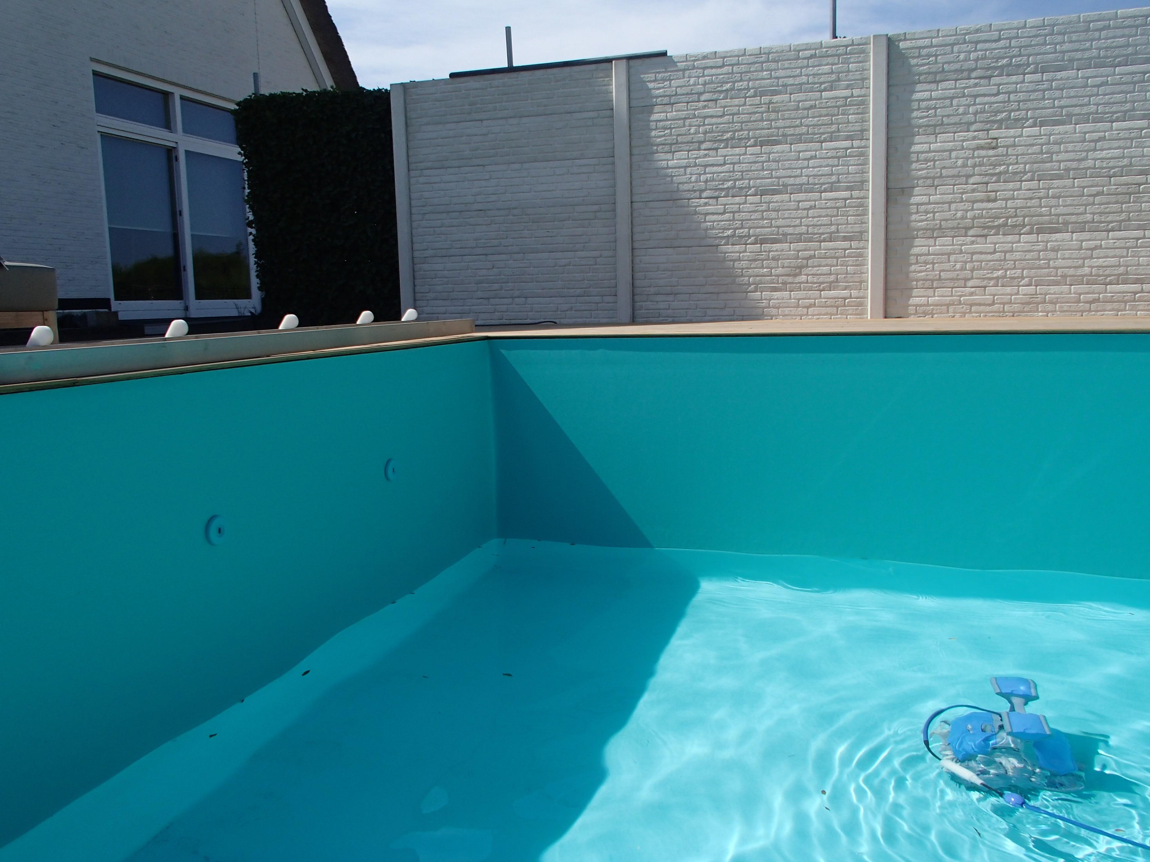 zwembadfolie Groen lassen 5