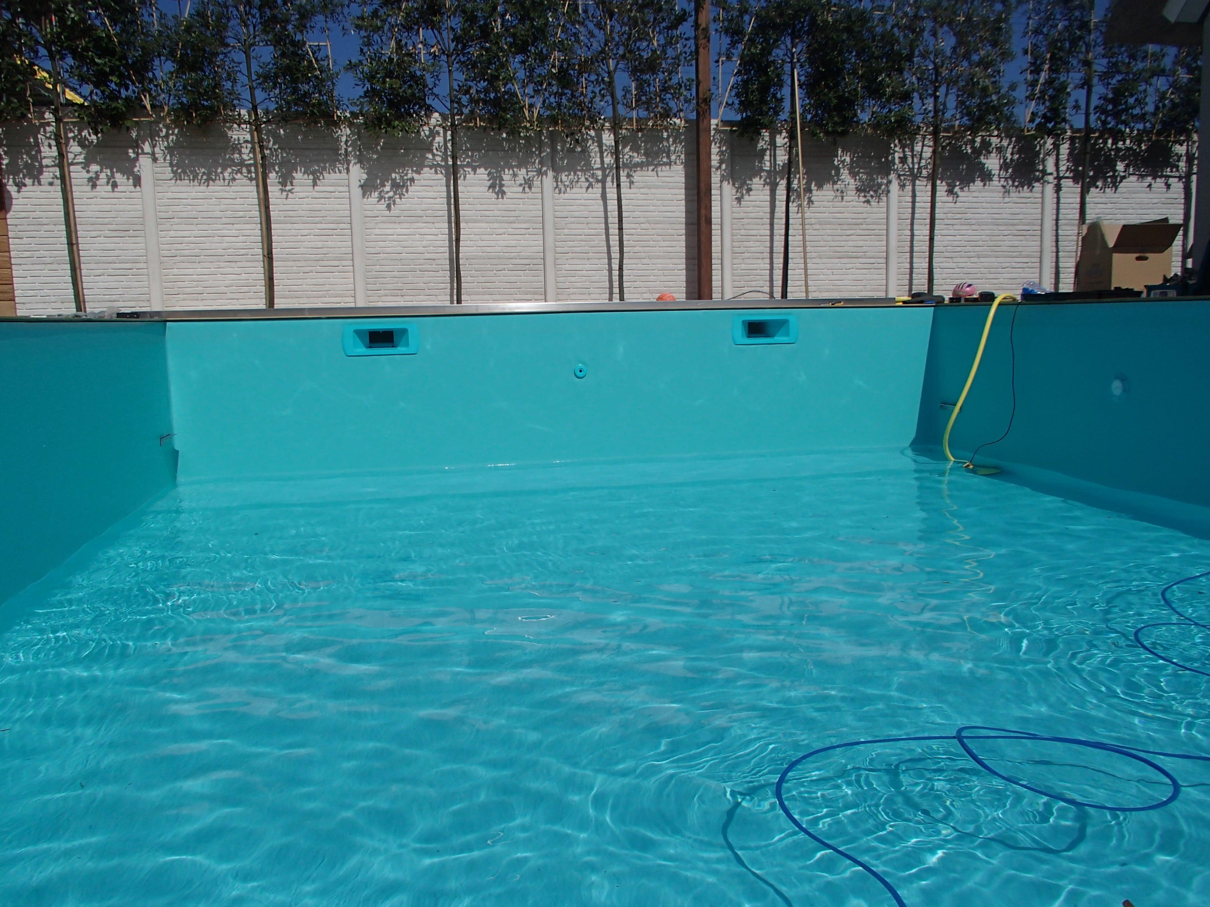 zwembadfolie Groen lassen 7